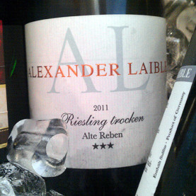 Alexander Laible Alte Rebe Riesling 2011